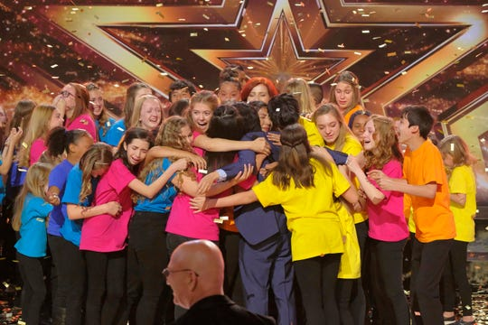 Voices of Hope Children's Choir advanced Wednesday to the semifinals of Season 13 of 'America's Got Talent.'