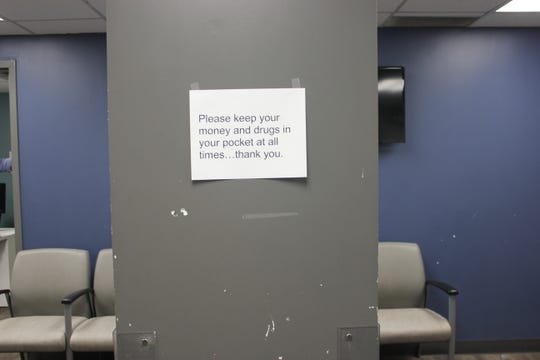 At a supervised injection site in Toronto, users can bring their own drugs but cannot sell them on the property.