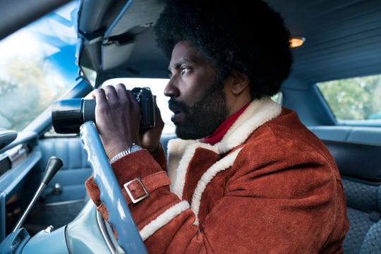 "8) ""BlacKkKlansman"" — Spike Lee's comedy/drama was exhilarating filmmaking at its best. Funny, suspenseful and a gut punch of an ending. Another film to cherish from a master filmmaker. Final thought: There's a shot of a reflection of a cross in a character's pupil that's stunning. (Now streaming)"