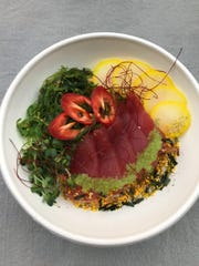 A tuna bowl from Jozu at Bell Market at Bell Works.