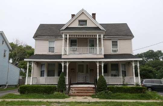 68 South Street, one of the three homes Bruce Springsteen grew up in, in Freehold, NJ Tuesday August 7, 2018.
