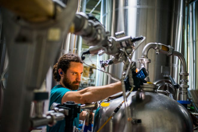 A-B Tech accepts 24 students a year into its Craft Beverage Institute of the Southeast. While students do taste beer for flavor and analysis, they don't consume much. And none of it leaves campus.