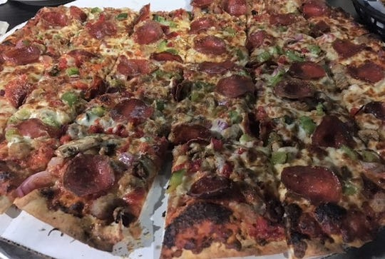 NEDS on Gull Lake features large 18-inch pizzas and will deliver one to your boat if you want.