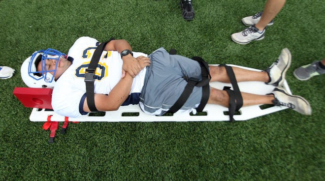 Proper use of a spineboard is part of the training for every student athletic trainer, coaches and professional athletic trainer.