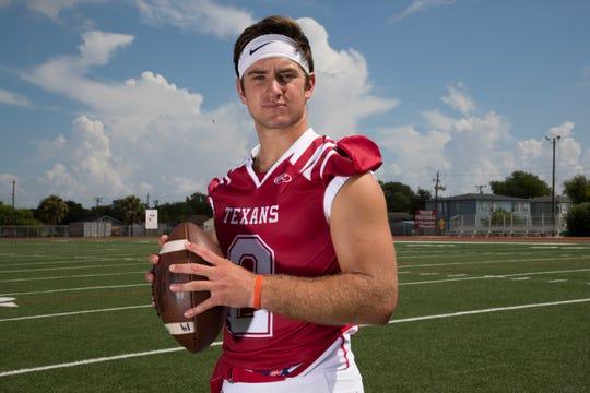 Ray quarterback Brad Breckenridge
