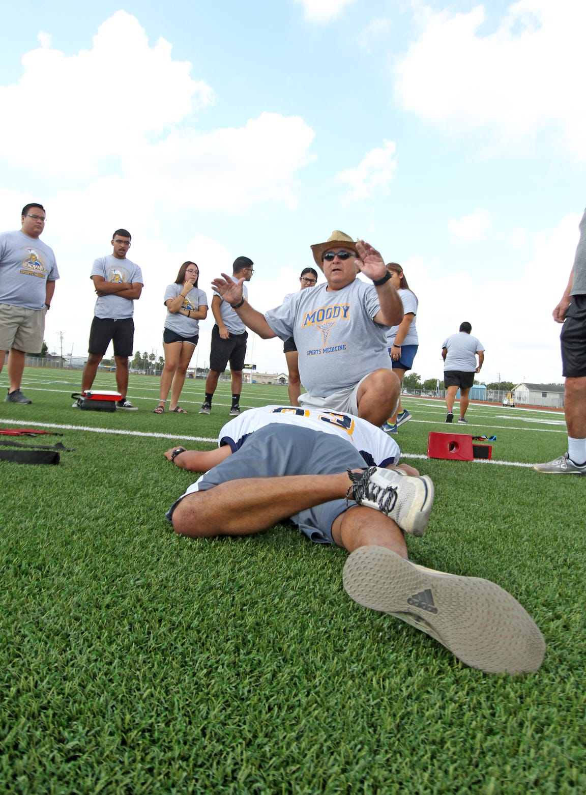Moody Athletic Trainer Robert Gonzalez said much has changed since he took the job 29 years ago.