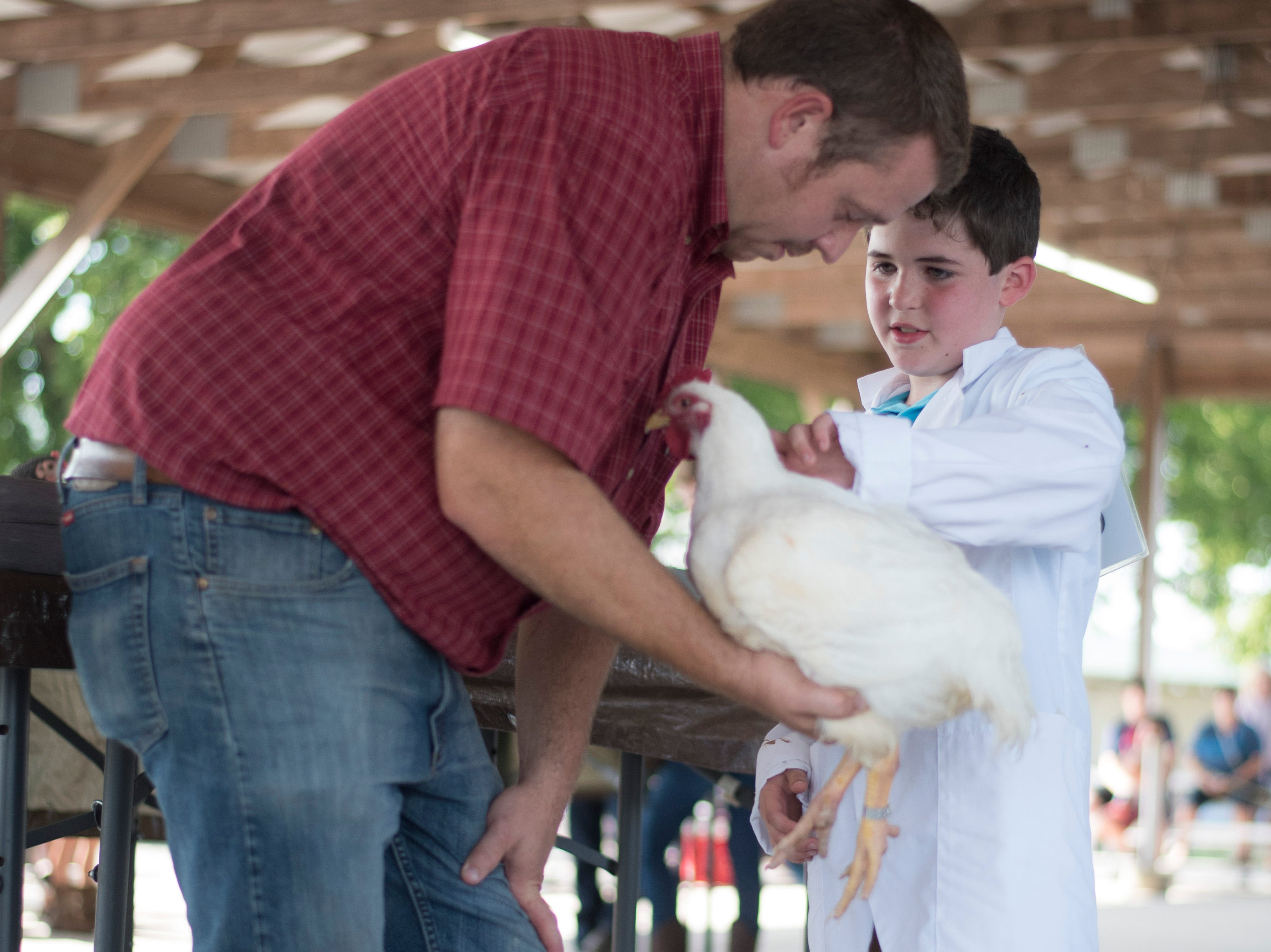 Highlights and portraits of the of the 2018 Jr. Fair Poultry Production and Fancy Poultry judging and showmanship contest.