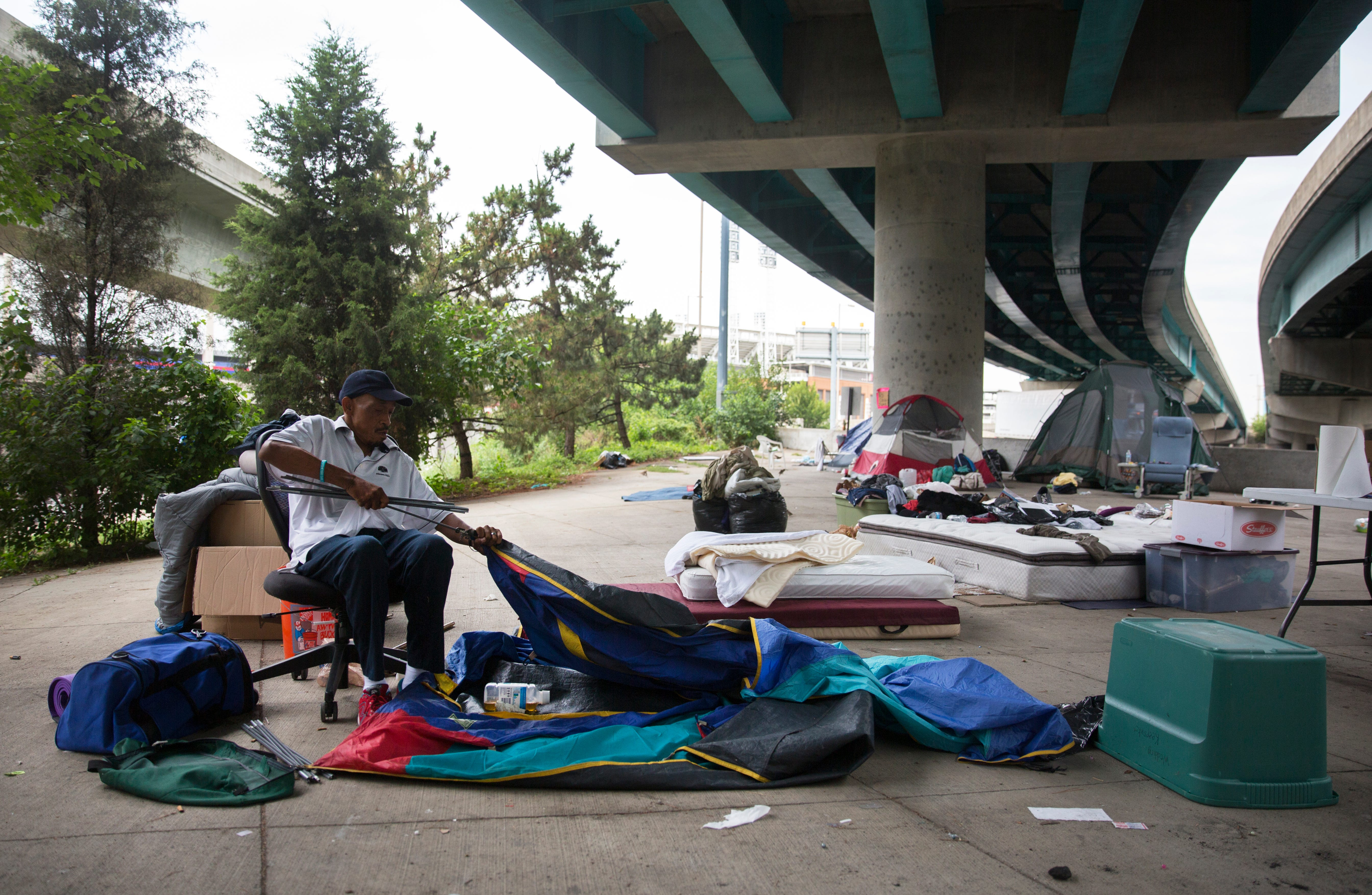 Is being homeless illegal? Ohio court rulings raise the question