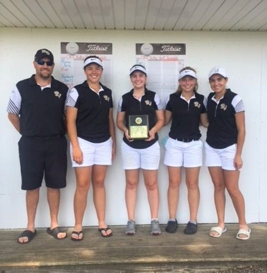 River View girls golf wins title