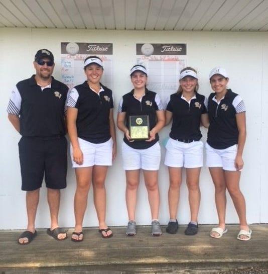 River View girls golf wins title