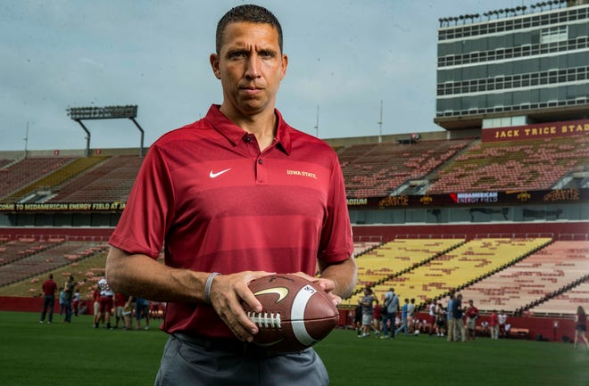 Iowa State football coach Matt Campbell's future in Ames has already become a huge talking point.