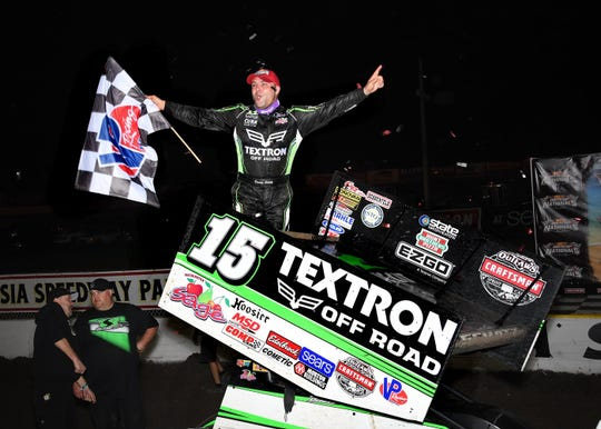 Donny Schatz, a perennial favorite at the Knoxville Nationals, has won 10 titles in sprint-car racing's biggest event and will be back to chase No. 11 this year.