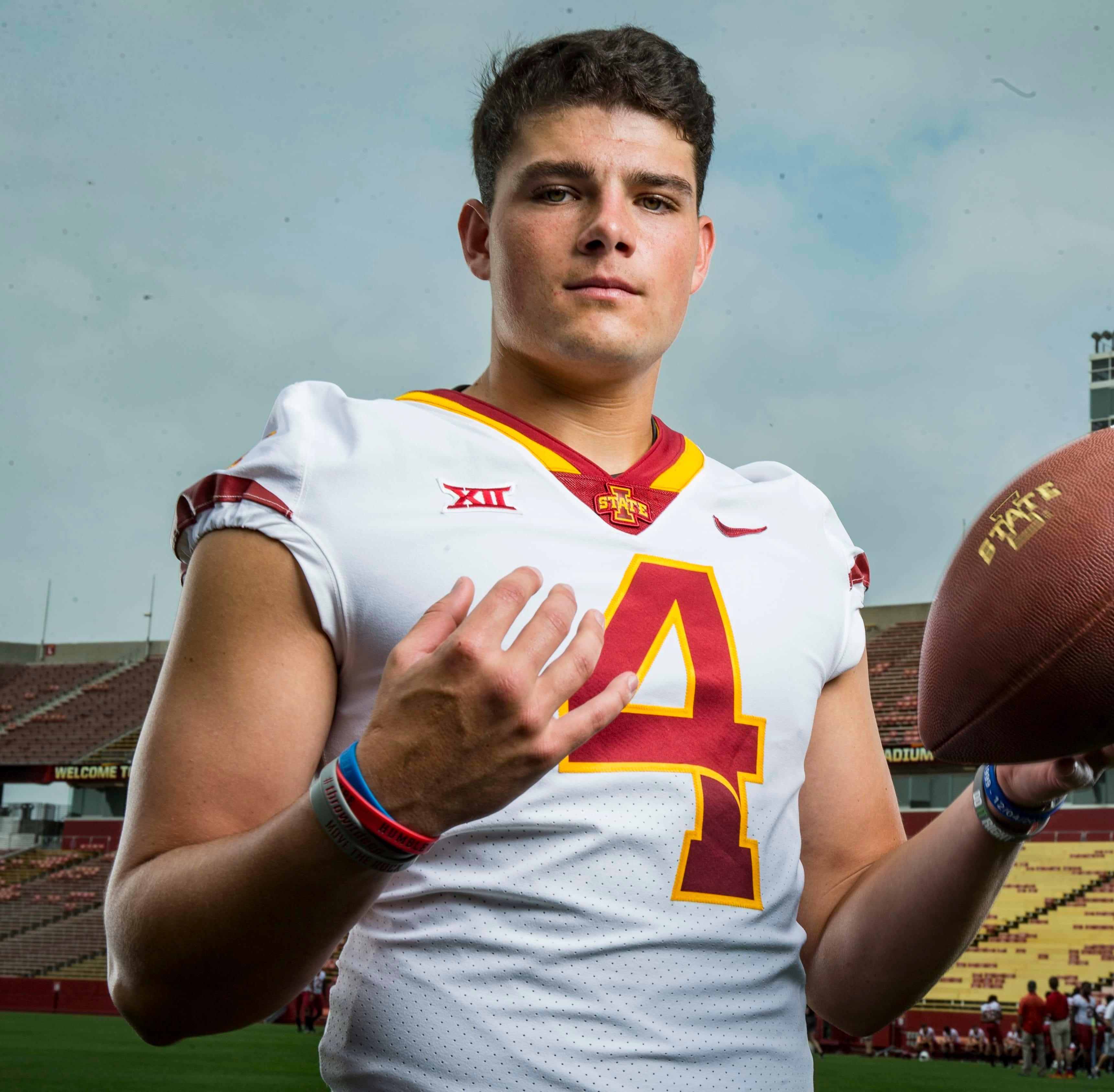 Former Iowa State quarterback Zeb Noland finds a new school