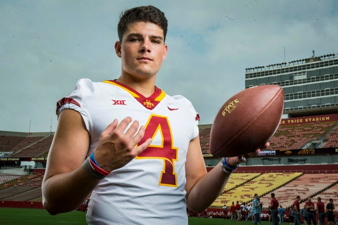 Iowa State quarterback Zeb Noland lost his starting job to true freshman Brock Purdy.