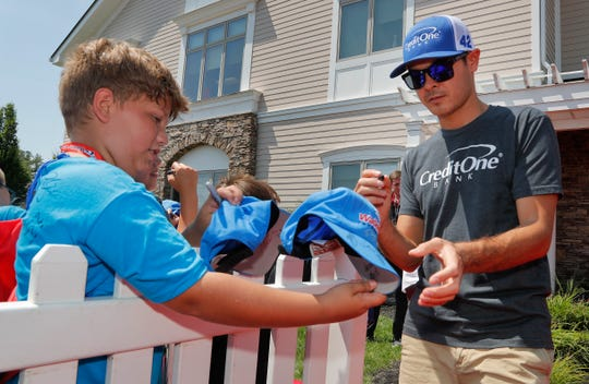 Kyle Larson is one of the young stars in NASCAR but has a passion for sprint-car racing that'll be on display this week at the Knoxville Nationals.