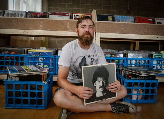 Luke Dickens, a music lover from Des Moines, will soon open his record store, Vinyl Cup, on Beaver Avenue.