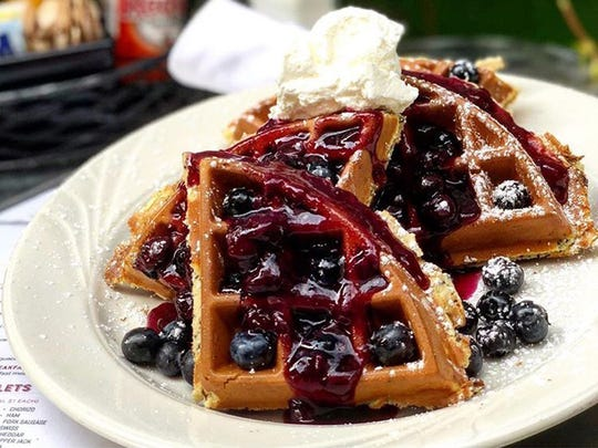 Toast Birmingham offers a wide variety of breakfast foods, but is famous for its waffles.