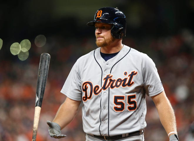 Detroit Tigers'  John Hicks will undergo groin surgery and will likely miss rest of season.