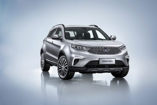 The Ford Territory SUV will go on sale in China in 2019.