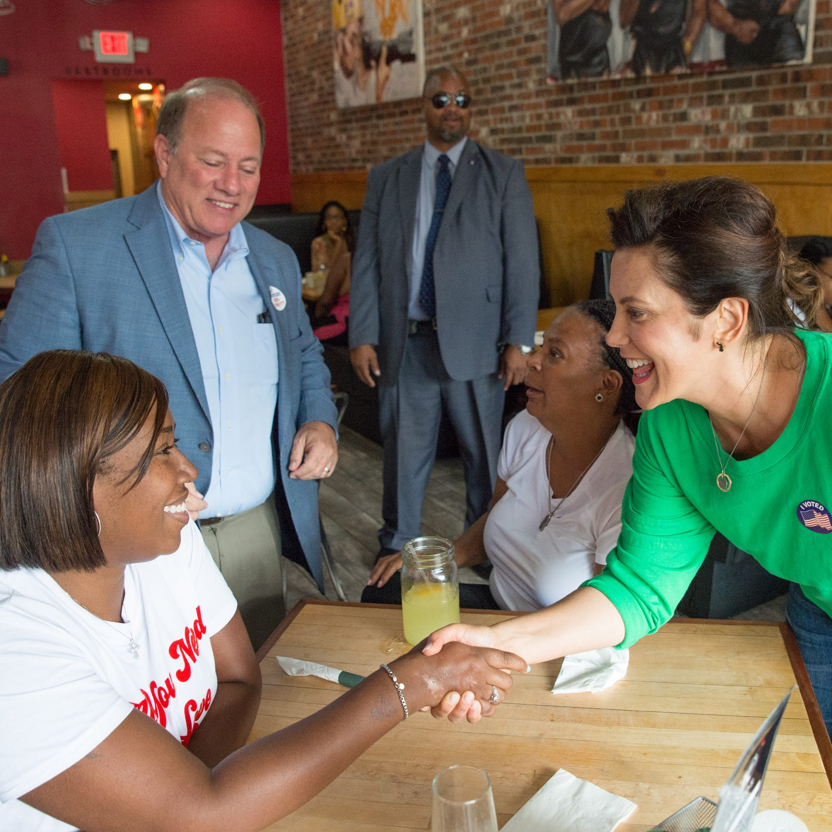 Duggan, Worthy hit airwaves to help Whitmer's campaign for governor