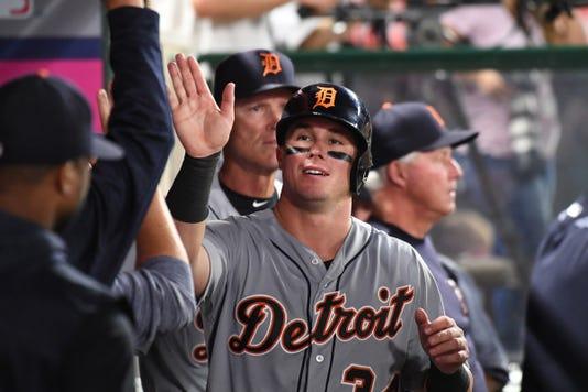 Mlb Detroit Tigers At Los Angeles Angels