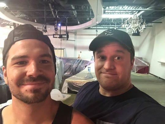Joey Salamon and Matt Buskard