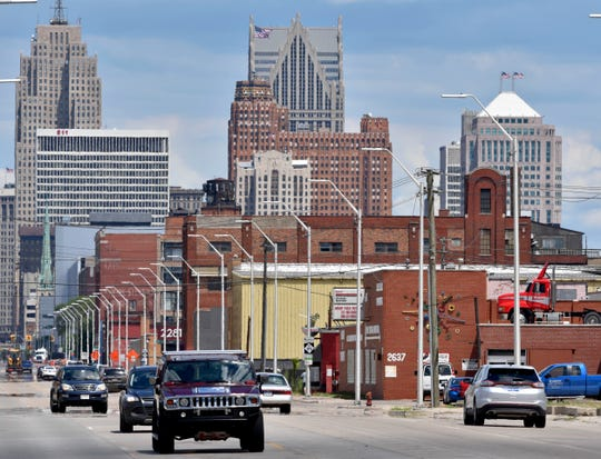 """Mallach writes: """" If we think of gentrification as affluent people moving in, supplanting a lower-income population and pushing up sales prices and rents, there are few areas in Detroit where that's happening."""""""