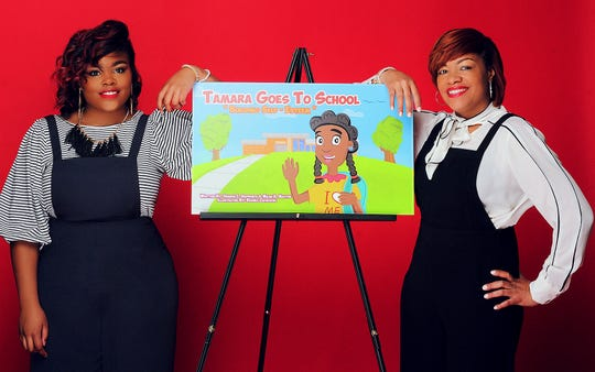 Mansfield University junior Micah Maxton, left, and her mother, Shanon Skipworth, co-authored and self-published a children's book that raises awareness about issues such as self-esteem, body image, bullying and other issues.