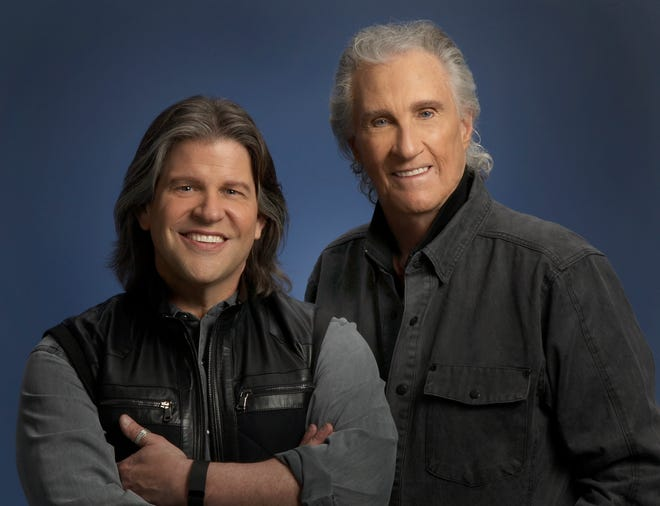 Original member Bill Medley and new singer Bucky Heard of The Righteous Brothers
