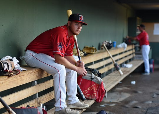 Garrett Benge credits the Boston Red Sox's minor league coaches for the team's improvement: 'They have mental skills coaches along with hitting coaches, strength coaches. Anything you need, they have it. They have plenty of resources you can use to improve all areas of your game.'