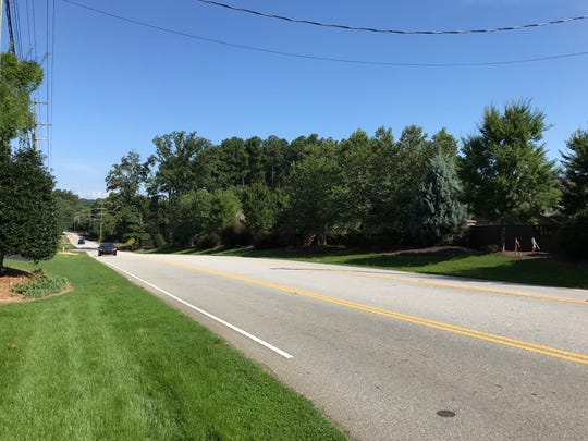 Roper Mountain Road Extension is set for a widening project. The road will be going to three lanes with bike lanes and sidewalks.