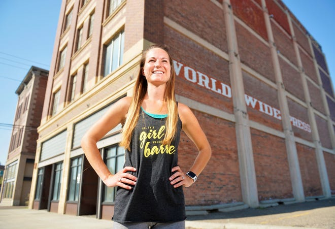 Keely Baker, a Great Falls native, will open up a Studio Barre workout studio in the World Wide Press building at 112 3rd St. S.  Studio Barre is a franchise that uses a ballet barre for workouts that incorporate elements of yoga, pilates and isometric training in the workouts.