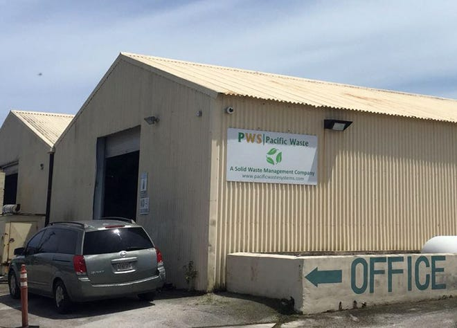 Pacific Waste Systems in Tamuning is shown in this photo taken Aug. 7, 2018.