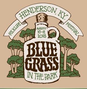 Bluegrass in the Park 2018 logo