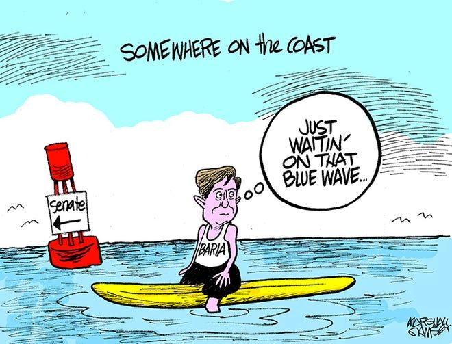 David Baria's quest for the U.S. Senate.