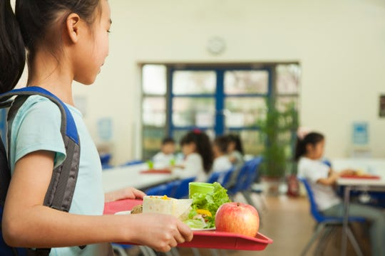 In Knox County Schools, students not on the free or reduced lunch program pay $2.50 for a basic lunch in elementary school and $2.75 in middle and high schools, although there are items that can be added for an extra cost.