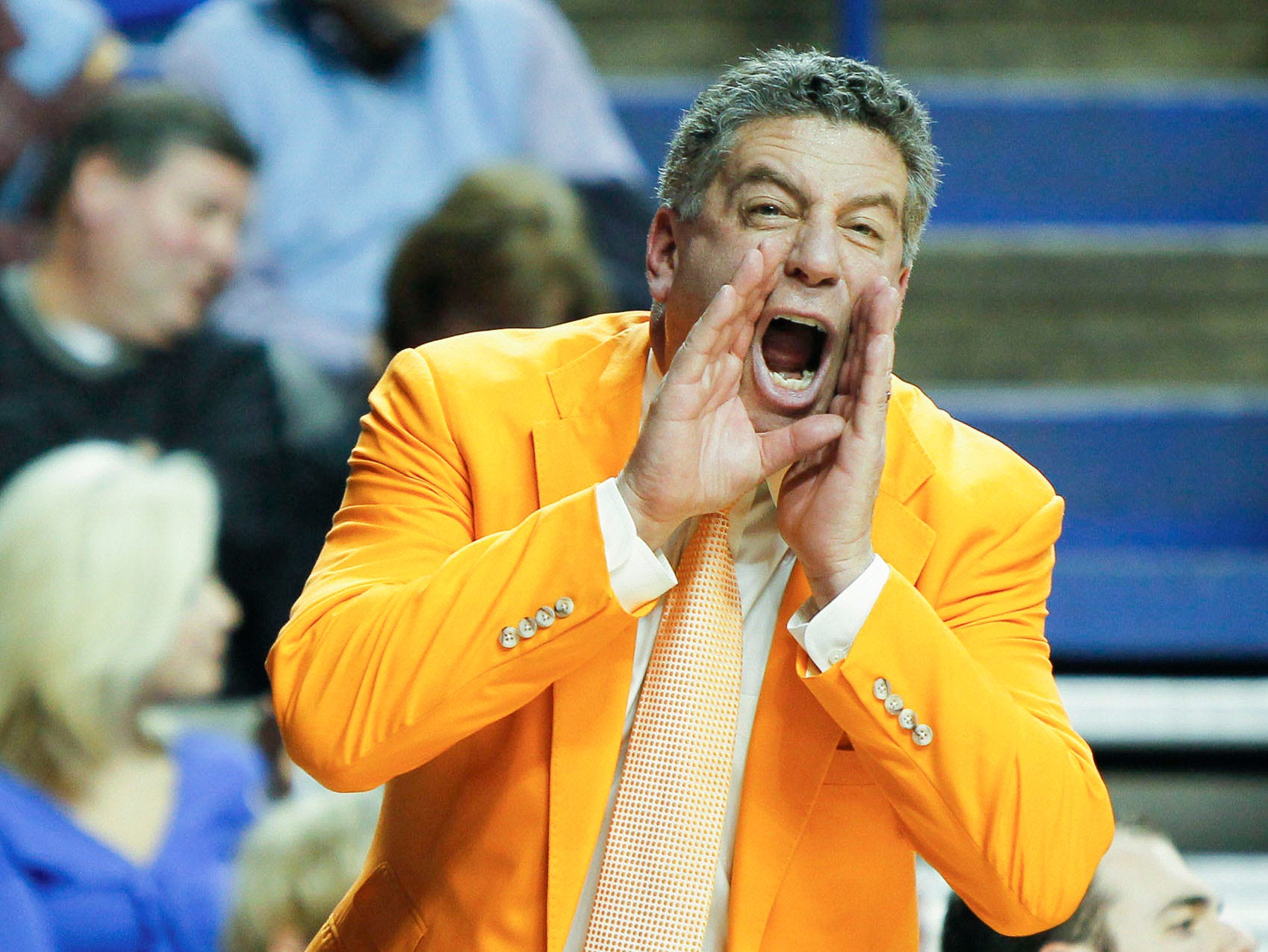 Tennessee coach Bruce Pearl during the game against Kentucky on Tuesday February 8, 2011.