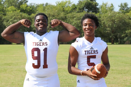 Breaux Bridge returns two of the top local players at their positions: defensive tackle Jontrell Steward and wide receiver Dartravien Girod.