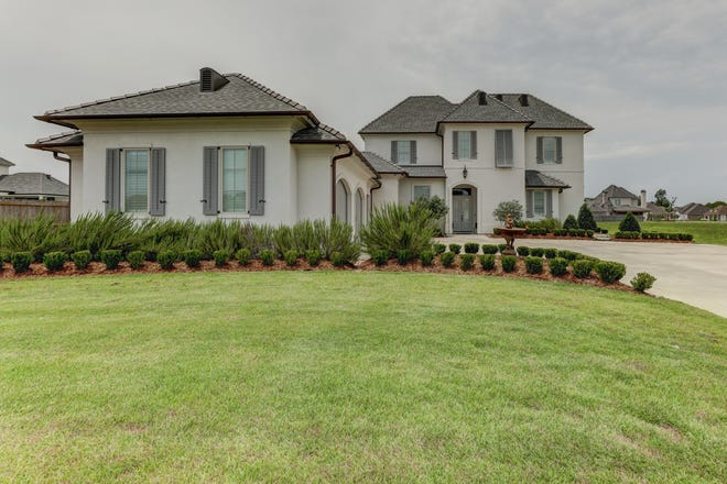 This 5 bedroom, 4 1/2 bath home is located at108 Birdwatch Lane Lane in Lafayette. It is listed at $998,000.