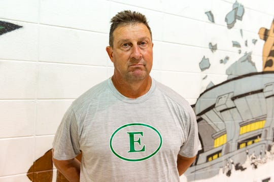 Paul Trosclair has a career record of 225-101, 192-90 at Eunice.
