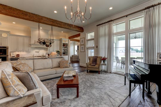 The living areas are large enough for any family.