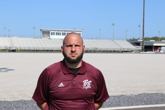 Breaux Bridge interim head coach Chad Pourciau earned his first win of the season with a 27-13 victory over Kinder on Friday.
