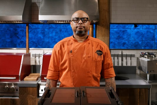 Chef Melvin Boots Johnson Poses As Seen On Chopped Grill Masters