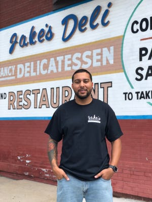 Edward DeShazer is the new managing partner for Jake's Deli, 1634 W. North Ave., working with Stand Eat Drink. The deli has served corned beef and pastrami sandwiches on the north side since 1955.