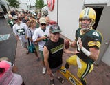 Former Green Bay Packers quarterback Brett Favre want to be remembered as a Packer.