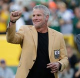 Former Green Bay Packers quarterback Brett Favre says the stress finally became too much.