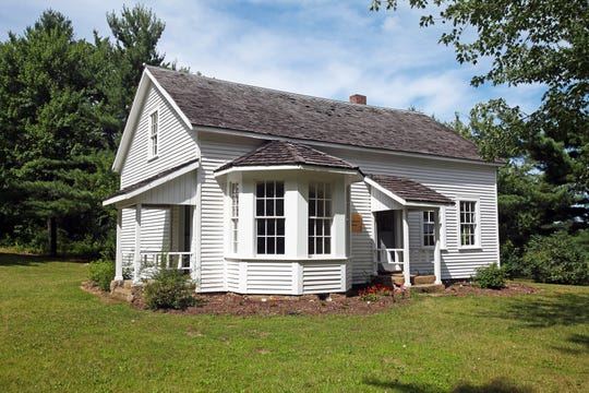 "The home of Caddie Woodhouse, who served as inspiration for the Newbery-award winning book ""Caddie Woodlawn,"" has been restored and is open to visitors in a park south of Menomonie."