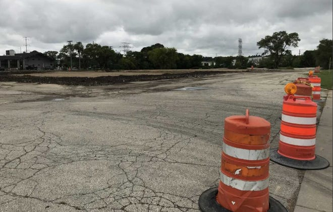 The site of the former AMF bowling center on Highway 100 and Lapham Street extends a long way west from Highway 100. The bowling center is now gone.
