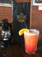 Boonton Station's Pineapple Frothy is a cool fave with Malibu Rum, vanilla vodka and pineapple juice, shaken to a frenzy of goodness.