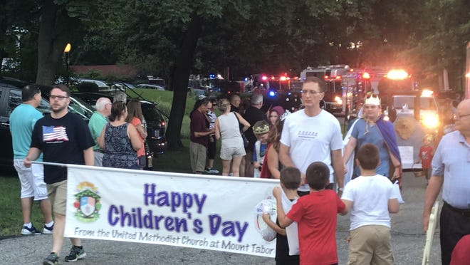 The 149th annual Mount Tabor Children's Day Parade, August 4, 2018, in Parsippany.
